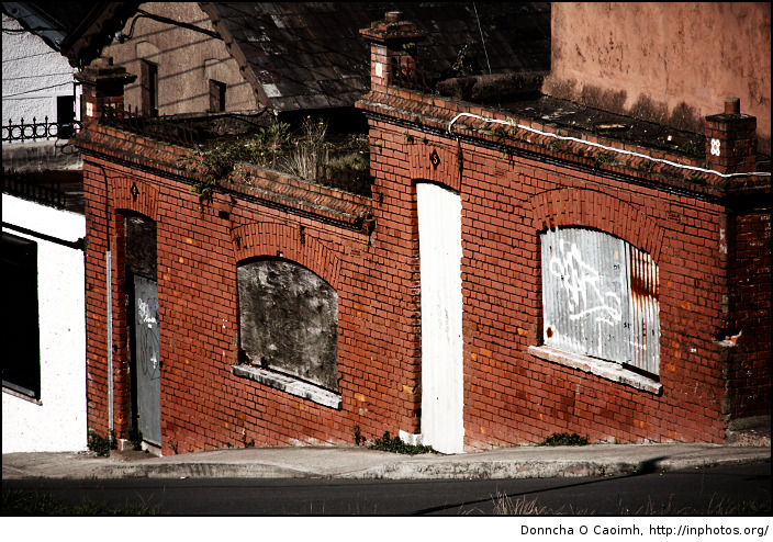 Derelict and red brick