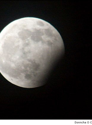 New Years Eve Lunar Eclipse