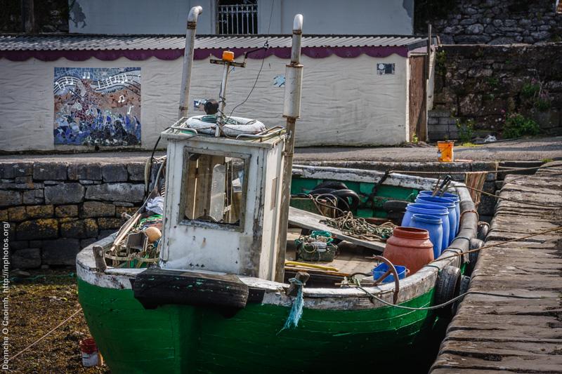 Boat in Kinvarra
