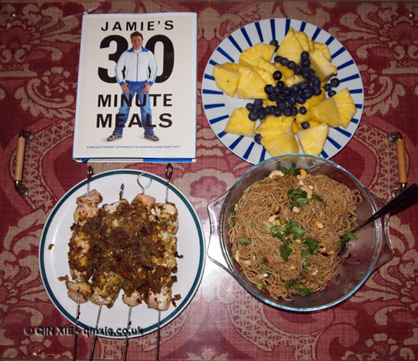 Road-testing 'Jamie's 30 minute meals' by Jamie Oliver