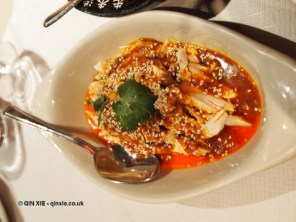 Bang Bang chicken at Empress of Sichuan