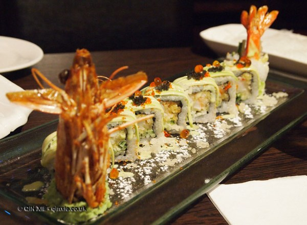 Dragon roll at Ikkuysan