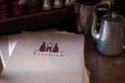 Terroirs wine bar menu