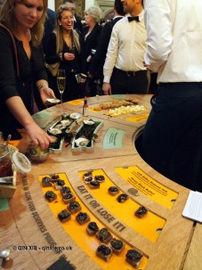 Slow Food wheel at the World's 50 Best Restaurants 2012