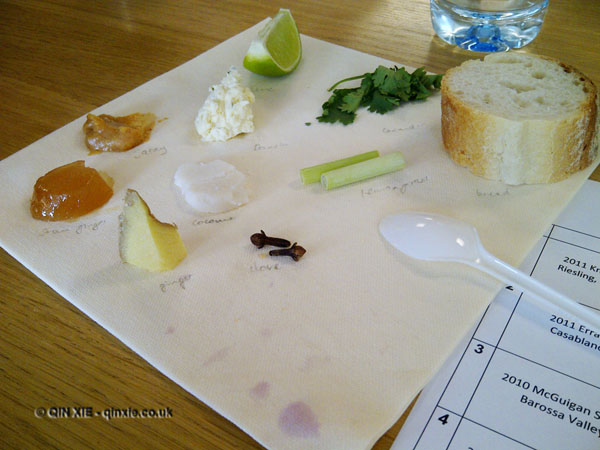 Food and wine matching at Leiths School of Food and Wine