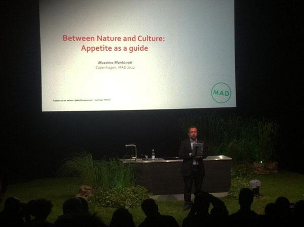 Massimo Montanari on appetite, MAD Symposium by Jack Stein