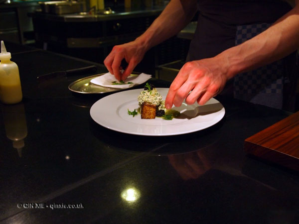 at the pass, Dinner by Heston Blumenthal