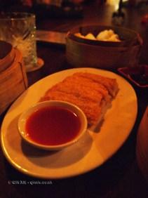 Sesame poppy lobster-prawn toast, Opium, Soho
