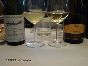Pecorino wines, Ristorante Al Metrò, Abruzzo