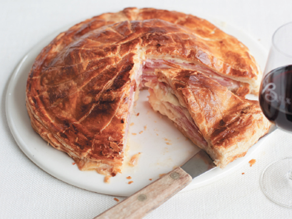 Cheese and ham pie recipe