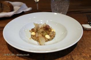 Arroz de bonito a la brasa (charcoal grilled tuna rice), Ricard Camarena, Valencia