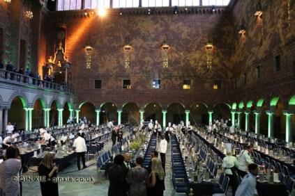 Dining hall, Bocuse d'Or gala dinner, Stockholm