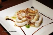 Grilled calamari, Casa Montaña, Valencia