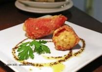 Stuffed Piquillo red pepper, Casa Montaña, Valencia