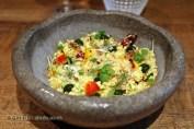 Curry dulce de fruitas, hierbas y coco (sweet fruits curry, herbs and coconut), Ricard Camarena, Valencia