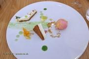 Lime tart, Rui Paula at DOP, Oporto