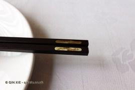 Chopsticks, Dumplings feast at De Fa Chang, Xian, China