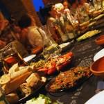 Feasting table in Georgia