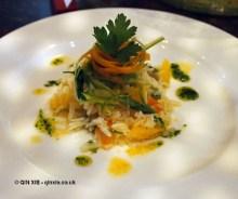 Rice salad at APEDA basmati rice conference