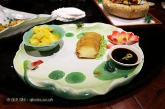 Smoked sushi, Kuan Alley No 3, Chengdu, China