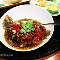Kuan Alley No 3, Chengdu, dinner