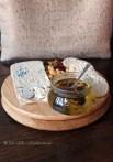 Gorgonzola and truffle honey, Christmas 2014, Chez Xie