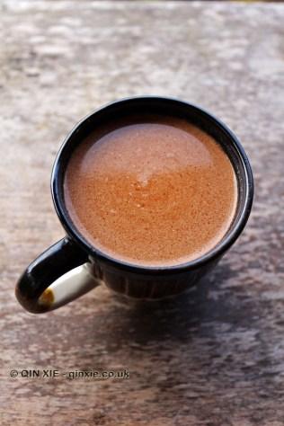 Cocoa tea, Crayfish Bay, Grenada