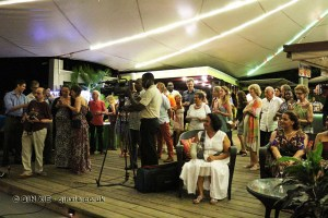 Opening party, Grenada Chocolate Festival