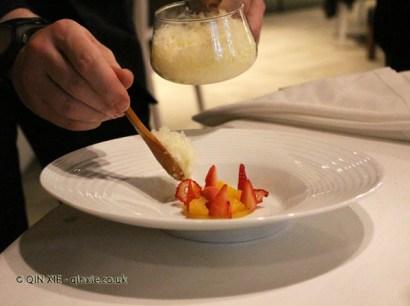 Orange, strawberry and ginger (Eneko Atxa), #AtxaAndreRicard at Azurmendi, Larrabetzu