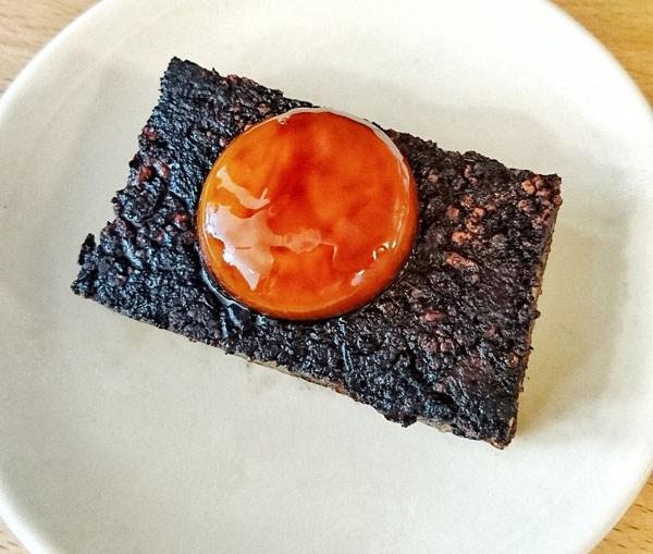 Pig's blood cake, Bao, London