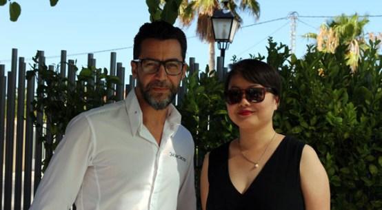 Qin Xie and Quique Dacosta, Denia