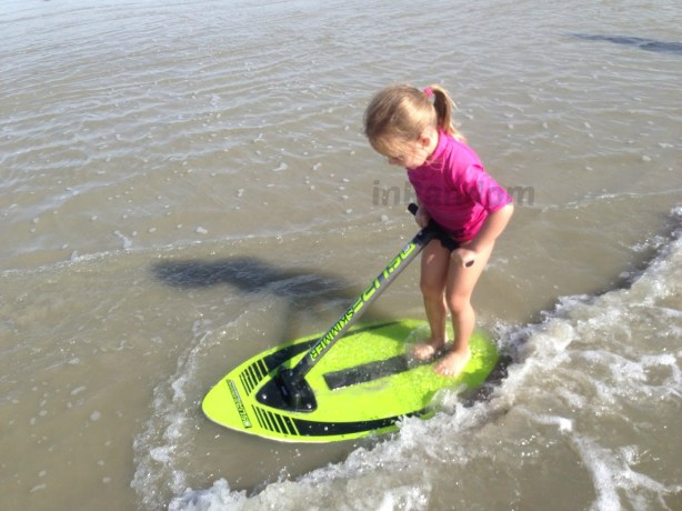 Surf Skimmer riding