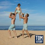 Tom & Teddy Matching Swimwear For Dads & Sons