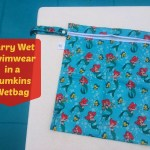 One of The Easiest Way To Travel With Wet Swimwear is in a Bumkins Wetbag