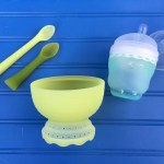 Safe Silicone Feeding Products for Baby from Olababy