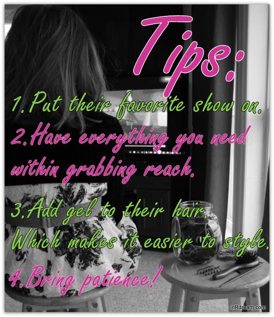 Tips for doing little girls hair