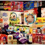Mountain of Toy Donations Kawartha Lakes Ontario