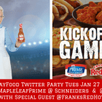 #GameDayFood Twitter Party (2)