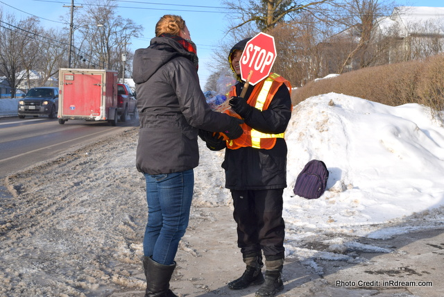 School Crossing guard Kawartha Lakes Ontario, Tide Coldwater Hero, #TideColdHero #PGmom P&G MOM, P&GMom,