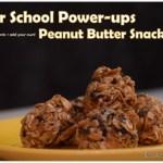 After School Power-up Peanut Butter Snack Bites, After school treats, Quick kids snacks, Kraft Peanut Butter Snack Bites