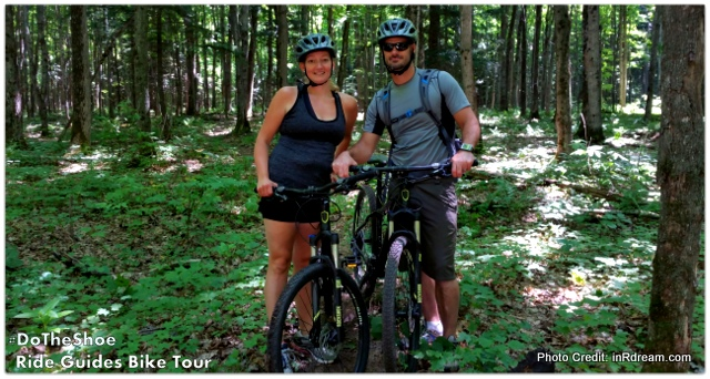 Horseshoe Resort Ride Guides Tour through Copeland Forest