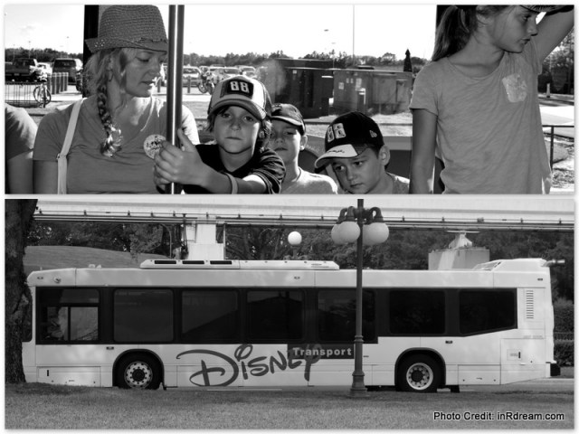 Canadians saving money on Disney World Trip. Complimentary Bus service