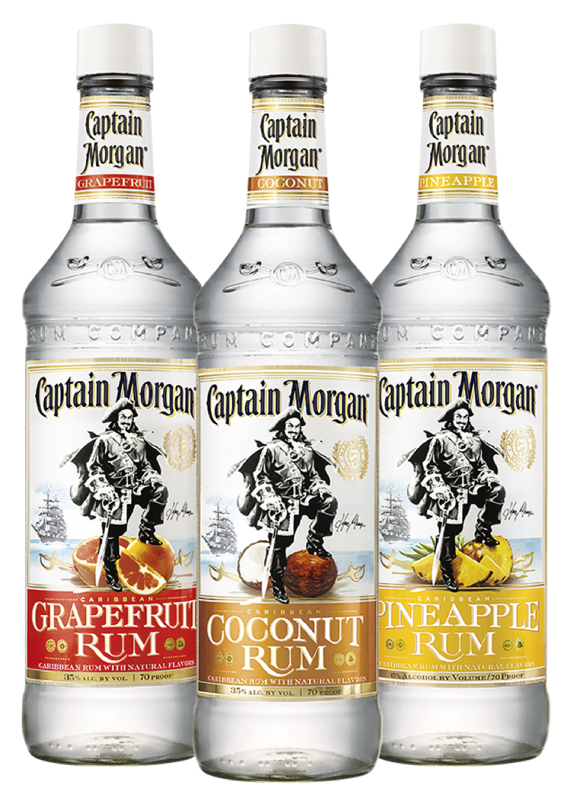 Take a Tropical Vacation with these new Flavored Rums & Cocktails from Captain Morgan!