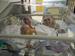 Recounting days 4 and 5 of Jordan's NICU stay