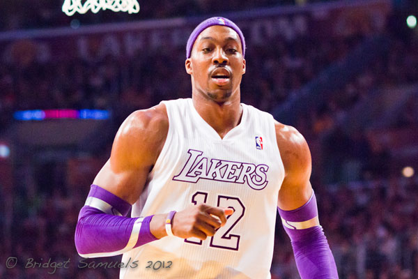 Dwight Howard hurt his shoulder last week and will be sidelined indefinitely.