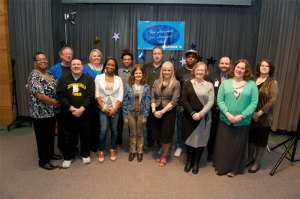 (Pictured L-R) Felisha Bass (judge), Fred Linxweiler, Matthew Nelson, Carrie Claypool, LaTanya Stone, Brandyn Costa, Amanda Crago, Darrell Music, Sandy Murvine, David Green, Jackie Fuller, Brian Hollingsworth (judge), Sarah Tobias, Sondra Gohlke (judge)