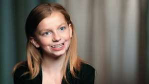 """Meet Katherine, the Little Engine That Could (Video) <small class=""""subtitle"""">Katherine doesn't let 15 heart procedures slow her down</small>"""