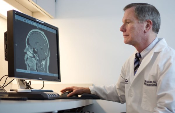Dr. Roger Hudgins is the Director of Pediatric Neurosurgery at Akron Children's Hospital.