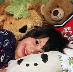 Stuffed animals help children cope after surgical procedures