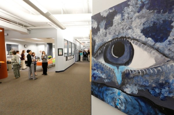 Partial Hospitalization Program open house and art show